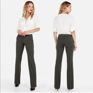 Express columnist barely boot cut black pants 12